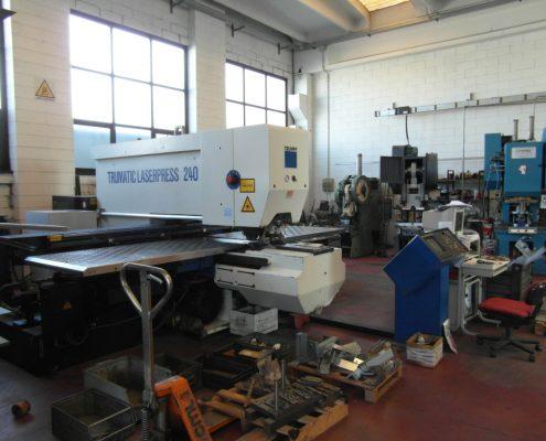 Punzonatrice laser 2000 x 1000
